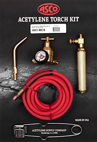 #1 Torch Kit - Spring Hose Mc Cyl Inlet - 'A' Lh Outlet Asco Torch AK1-MCS