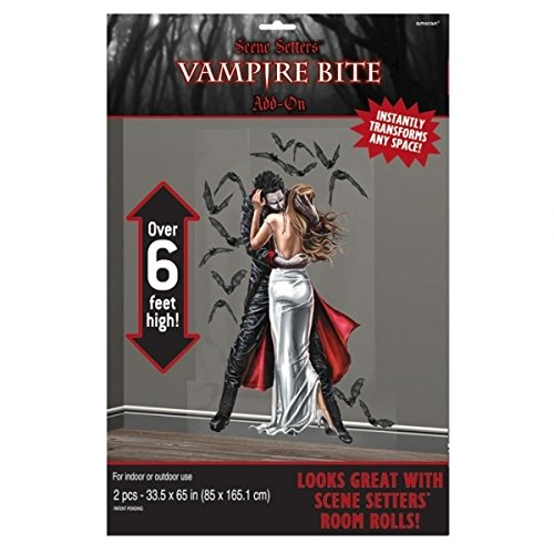 Decorations Vampire (6ft Vampire Bite Halloween)