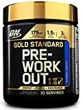 Optimum Nutrition Gold Standard Pre-Workout with Creatine, Beta-Alanine, and Caffeine for Energy, Flavor: Blueberry Lemonade, 30 Servings