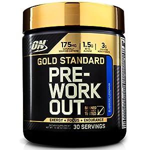 Optimum Nutrition Gold Standard Pre Workout 30 Serve Supplement, 300 Gram