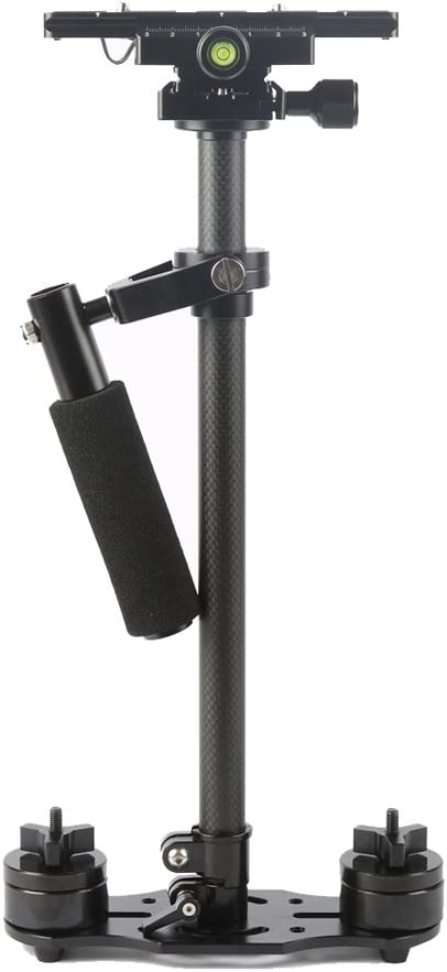 SY-JQ04 28-40cm Maximum Burden 0.2-2kg Carbon Fibre Handheld Stabilizer Solo for DSLR /& DV Digital Video /&Other Cameras Durable