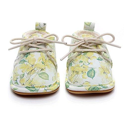 Covermason Winter Neugeborene Baby Weiche Sohle Schuhe Krippenschuhe Prewalker Warm Stiefel Babyschuhe Gelb B