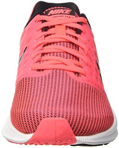 on sale e5205 62b59 Nike Wmns Downshifter 7, Zapatillas de Running Para Mujer Rosa (Hot  Punch black ...