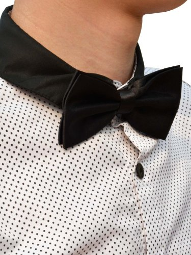 Simplicity Men's Formal Bowtie for Weddings and Social Occasions, Black