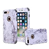 Best NOKEA Waterproof iPhone 4 Cases - iPhone 7 Plus case, NOKEA [Marble Pattern] Three Review