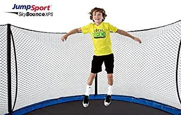 JumpSport SkyBounce 14 XPS Trampoline System Includes Integrated Safety Enclosure Safest, Overlapping Doorway Entry