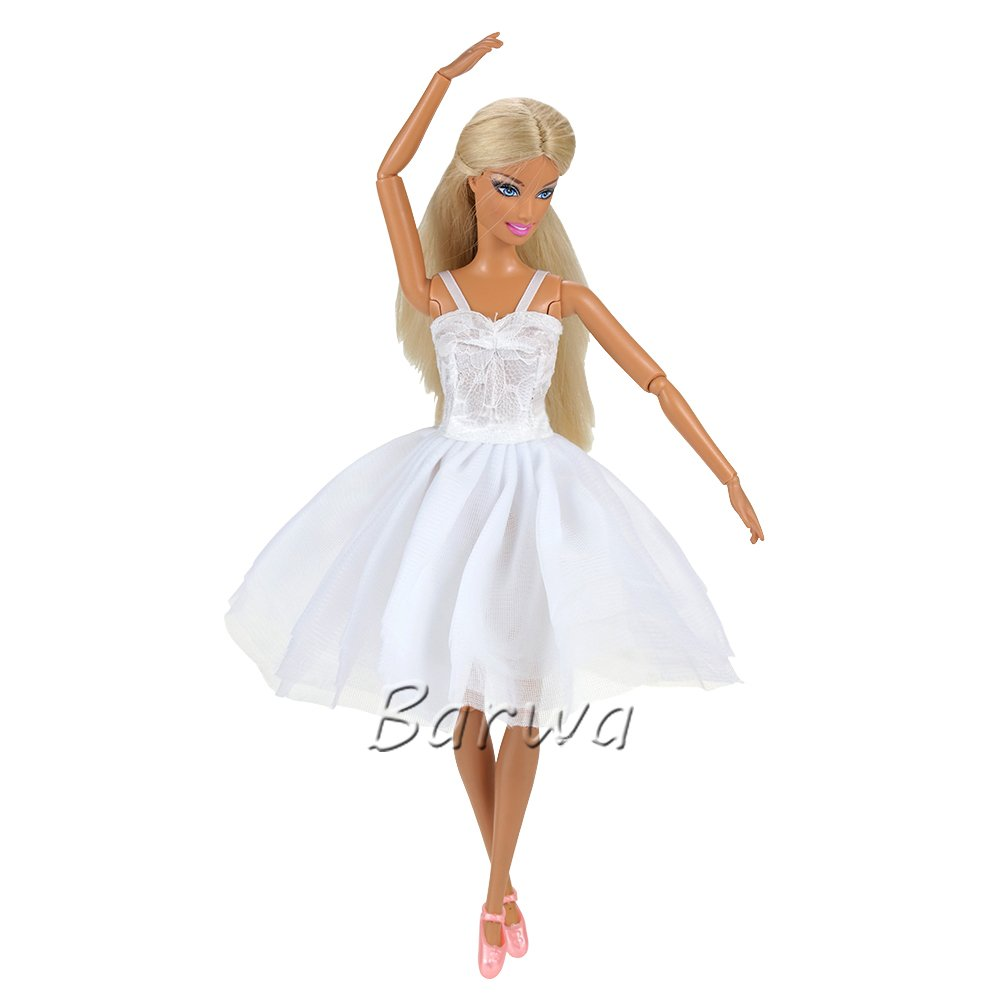 Dancers in a Line Mini Dresses