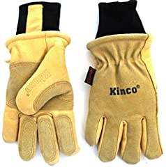 """Kinco 901 Ski Glove - Work Glove, has become The Standard in the Industry, for serious Skiers, Snowboarders, Ski Patrol, & Lift Operators. The More you Wear this Glove the More you will Love it and the Softer it becomes. Nikwax Waterproo..."