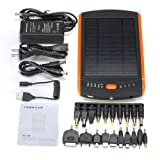 23000mAh 85WH External Solar Mobile Power Laptop Charger
