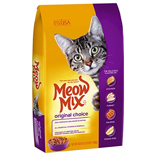 Meow Mix 29274-51375 3.15 Lb Meow Mix Original Choice Cat Fo