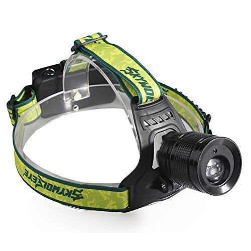 Kangnice Headlamp Waterproof Flashlight Headlight