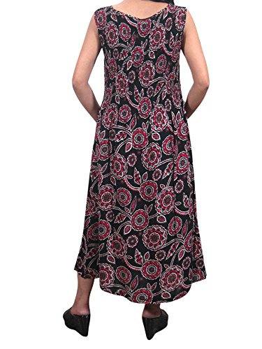 Red Mehrfarbig Kleid Damen Mogul Interior Black 7xqHXTaz