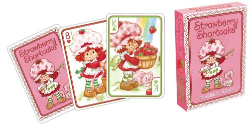 Aquarius Strawberry Shortcake Playing Cards