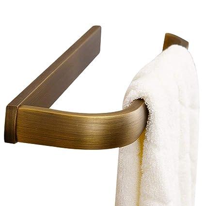 Leyden Retro Bathroom Accessories Solid Brass Antique Brass Finished Towel  Ring Towel Holder Towel Bars Towel
