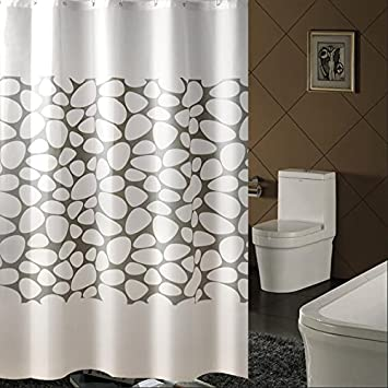 Shower Curtain Curtains Thermal Insulation Green Activists Peva Material Bathroom Amenities Opaque Mildewproof  200200cm & Amazon.com: Shower Curtain Curtains Thermal Insulation Green ...
