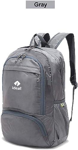 IdealTech Lightweight Packable Backpack Gray