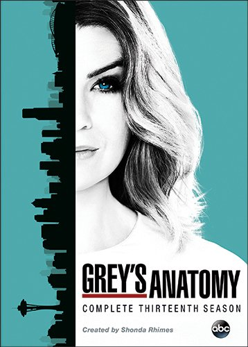 DVD : Grey\'s Anatomy: Complete Thirteenth Season (Boxed Set, 6 Disc)