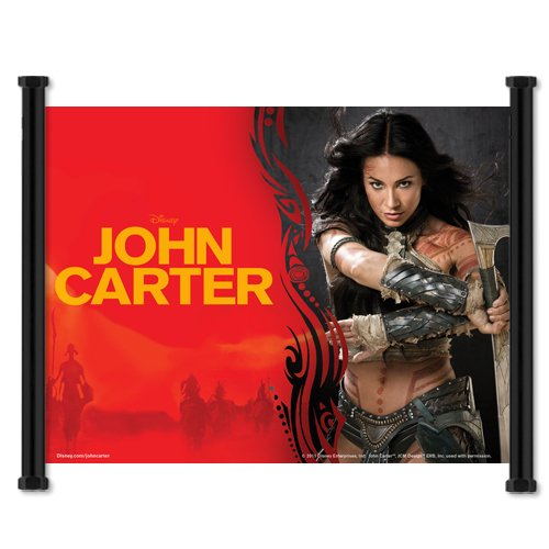 Carter Movie Poster - John Carter Movie 2012 Fabric Wall Scroll Poster (21