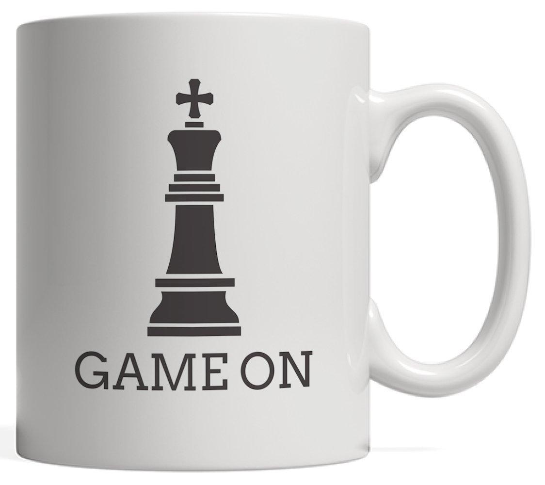 素晴らしい価格 面白いゲームon King Chess Piece Games King Sillouetteマグ – with Sillouetteマグ Graphicユーモアのギフトを愛するオタクスマートゲーマーと選手チェスピースand Checker Board Games Tournaments B076ZLRSGP, インテリアショップatom:88603a6f --- nicolasalvioli.com