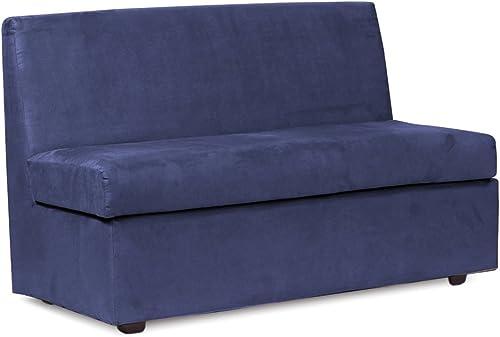 Best living room sofa: Howard Elliott Slipper Loveseat