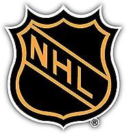 NHL Hockey Logo Vinyl Sticker 5 X 5 inches