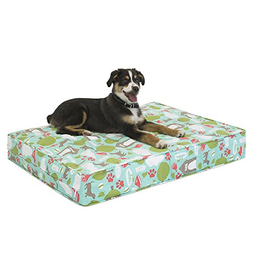 hot sale 2017 Premium Memory Foam Dog Beds with Removable Cotton Outer Cover and Waterproof Interior | Proudly Made in the USA | Bleecker Street