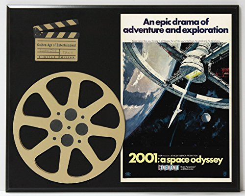 2001 A SPACE ODYSSEY STANLEY KUBRICK LIMITED EDITION MOVIE REEL DISPLAY (2001 Space Odyssey Collectible compare prices)