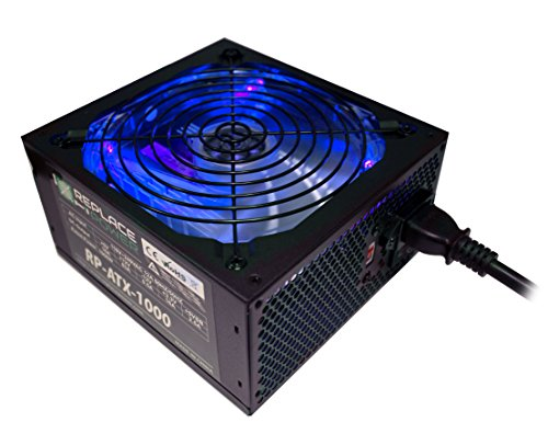 Replace Power RP ATX 1000W BLU 1000W Supply product image