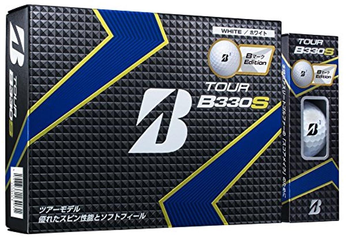 [해외] BRIDGESTONE(브리지스톤) 골프 볼 TOUR B B330S B마크EDITION 화이트 GSBXT
