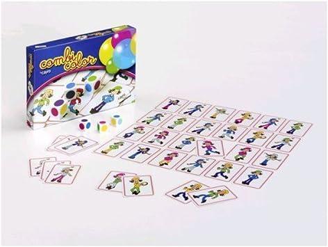 Cayro COMBICOLOR Juego DE ASOCIACION: Amazon.es: Juguetes y juegos