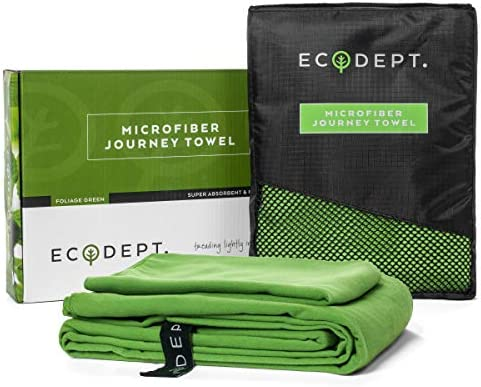 ECOdept Microfiber Absorbent Essential Backbacking