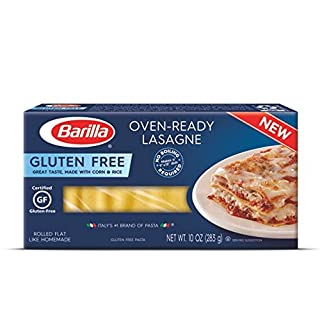 Barilla Gluten Free Pasta, Oven-Ready Lasagne, 10 Ounce