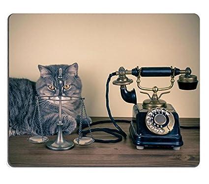 Alfombrilla de ratón Jun xt vintage, máquina de escribir y telé