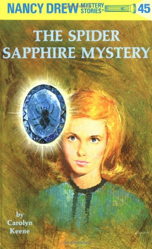 book cover of The Spider Sapphire Mystery