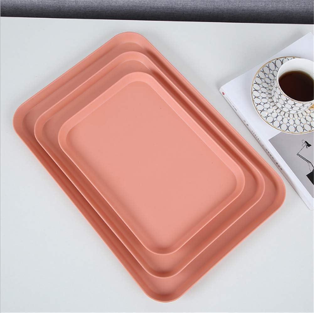 Plastica Bianco Molinter S: 30.1-21.9cm Vassoio Rettangolare in plastica per Alimenti per ristoranti e Bar