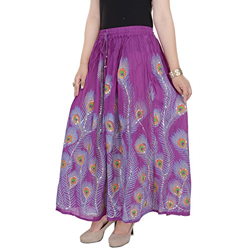 Soundarya - Jupe - Femme violet violet