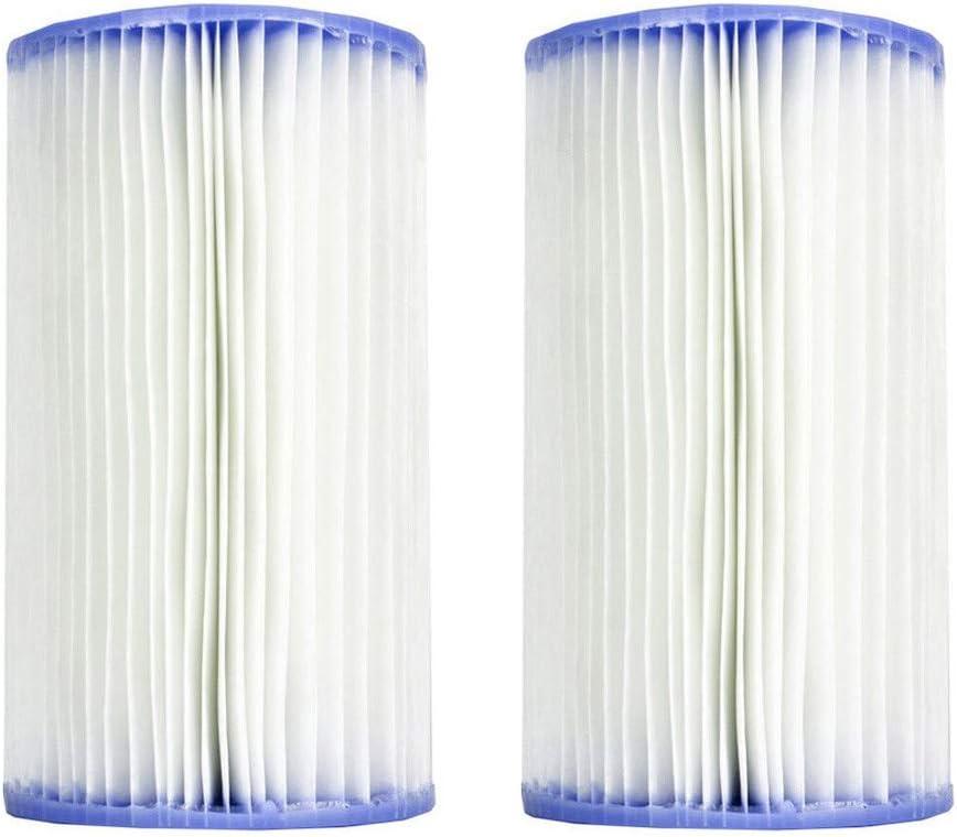 jfhrfged 2 Set de Cartuchos filtrantes para Piscina Tipo PC Easy ...