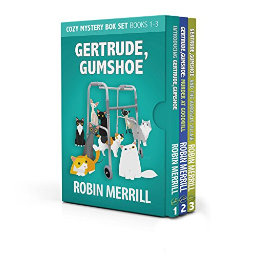 Gertrude, Gumshoe Cozy Mystery Box Set: Books 1, 2, and 3 cover