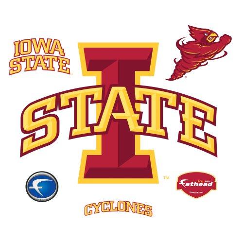 NCAA Iowa State Cyclones Logo Wall Graphic (Iowa State Wall Decal)
