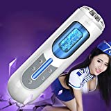 Men's Hand Free Aircrǎft Cūp Automatic Male Aircrǎft Cūp Telescopic USB Réchargéablé Male Hands Free Machine Toys