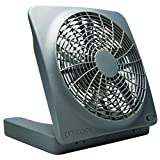 O2COOL FD10101A Portable Fan with AC Adapter, 10-Inch