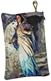 Nazareth Market Store Blessed Virgin Mary Rosary Case Holy Land Gift Zipper Pouch Tapestry Prayer 8.3''