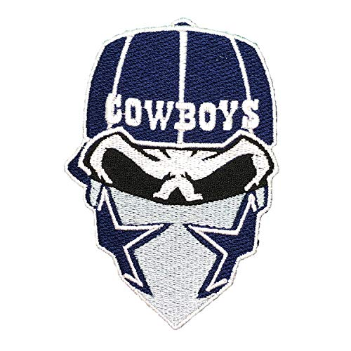 Dallas Cowboy NFL Sport Logo Embroidery Patch Iron and Sewing on Clothes Size 2.56