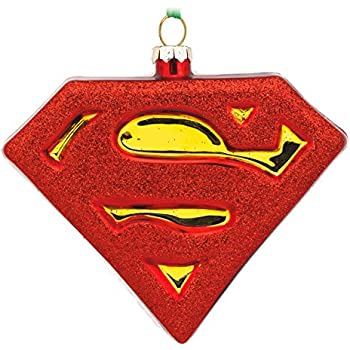 Amazon.com: Hallmark DC Comics Superman Christmas Ornament: Home ...