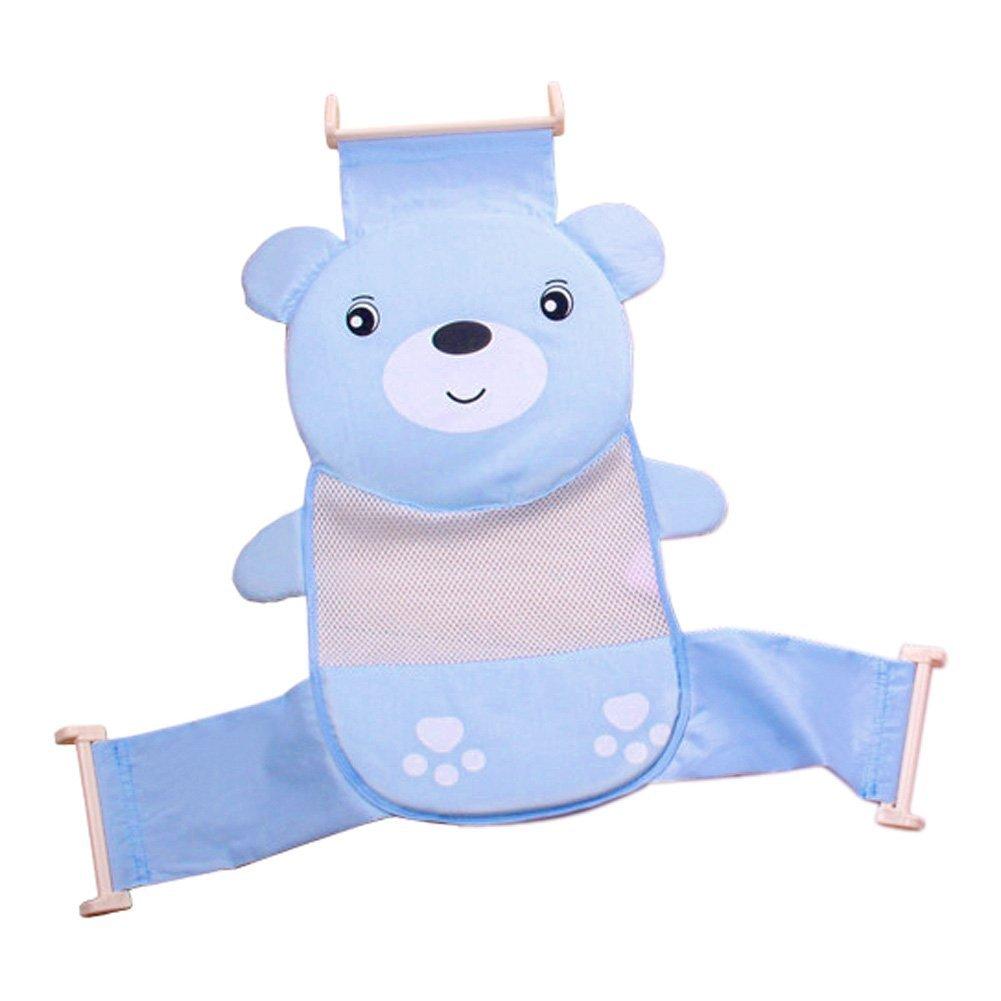 Kingken Hamaca de seguridad para asiento de ba/ño color azul