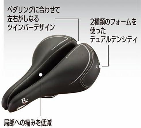 Serfas Men/'s E-Gel Bicycle Saddle-Black-Waterproof-Seat-MSD-100-New
