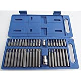 BERGEN 40pc TORX/SPLINE & HEX BIT SET B1109