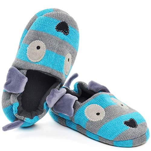 FEETCITY Toddler Boys' Doggy Slipper Cartoon Puppy Crochet Shoes Size 7.5-8 by FEETCITY (Image #7)