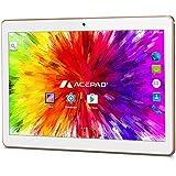 "ACEPAD A96 10 Zoll (9.6"") Tablet PC 3G (Dual-SIM) 48GB IPS HD 1280x800 Quad Core Android 5.1 WIFI WLAN USB SD (Weiß)"