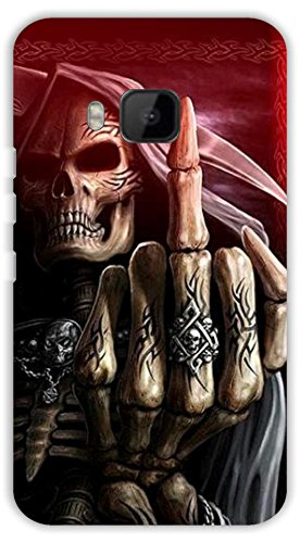 Crazy Beta Death grim reaper showing middle finger 3d: Amazon.in: Electronics